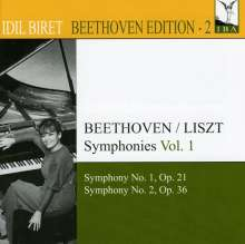 Idil Biret - Beethoven Edition 2/Symphonien Vol.1, CD