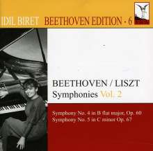 Idil Biret - Beethoven Edition 6/Symphonien Vol.2, CD