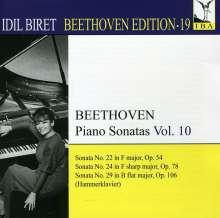 Idil Biret - Beethoven Edition 19/Klaviersonaten Vol.10, CD