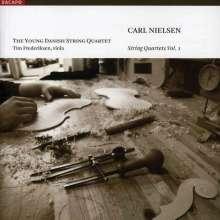 Carl Nielsen (1865-1931): Sämtliche Streichquartette Vol.1, SACD