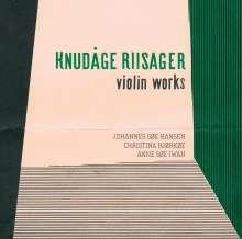Knudage Riisager (1897-1974): Kammermusik mit Violine, SACD
