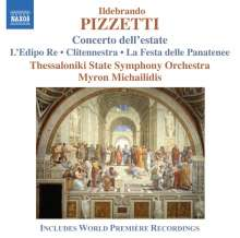 Ildebrando Pizzetti (1880-1968): Concerto dell'Estate, CD