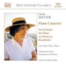 Sheila Silver (geb. 1946): Klavierkonzert, CD