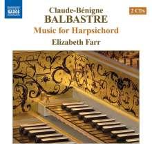 Claude Balbastre (1727-1799): Pieces de Clavecin 1er Livre (1759), 2 CDs