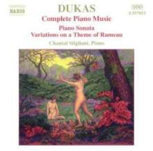 Paul Dukas (1865-1935): Klaviersonate es-moll, CD