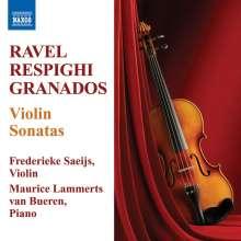 Ottorino Respighi (1879-1936): Sonate für Violine & Klavier h-moll, CD