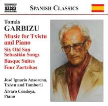 Tomas Garbizu (1901-1989): Musik für Txistu & Klavier, CD