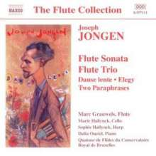 Joseph Jongen (1873-1953): Flötensonate op.77, CD