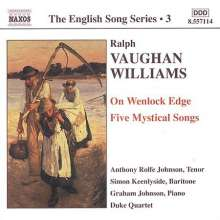 Ralph Vaughan Williams (1872-1958): Lieder, CD