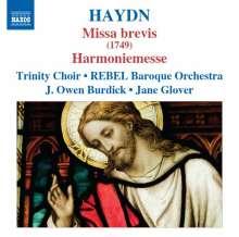 Joseph Haydn (1732-1809): Messen Nr.1 & 14 (Missa brevis & Harmoniemesse), CD