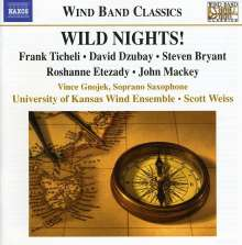 University of Kansas Wind Ensemble - Wild Nights!, CD