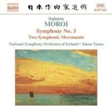Saburo Moroi (1903-1977): Symphonie Nr.3, CD