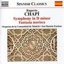 Ruperto Chapi (1851-1909): Symphony in d, CD