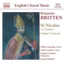 Benjamin Britten (1913-1976): St.Nicolas-Cantata op.42, CD