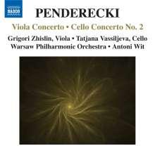 Krzysztof Penderecki (geb. 1933): Violakonzert, CD