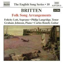 Benjamin Britten (1913-1976): Folk Song Arrangements, 2 CDs