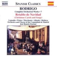 Joaquin Rodrigo (1902-1999): Orchesterwerke Vol.7, CD