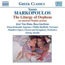 Yannis Markopoulos (geb. 1939): The Liturgy of Orpheus, CD