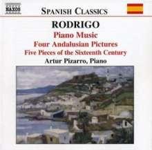 Joaquin Rodrigo (1902-1999): Klavierwerke Vol.1, CD