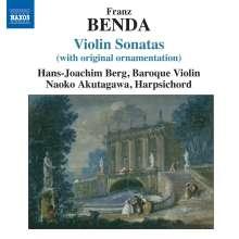 Frantisek Benda (1709-1786): Violinsonaten Nr.10,14,23,32,28, CD
