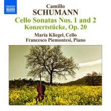 Camillo Schumann (1872-1946): Sonaten für Cello & Klavier Nr.1 & 2, CD