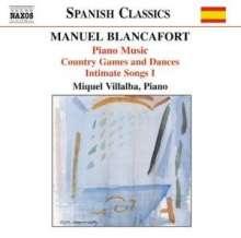 Manuel Blancafort (1897-1987): Sämtliche Klavierwerke Vol.2, CD