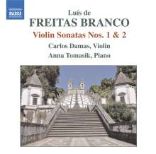Luis de Freitas Branco (1890-1955): Violinsonaten Nr.1 & 2, CD