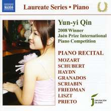 Yun-Yi Qin - Piano Recital, CD