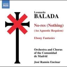Leonardo Balada (geb. 1933): No-res für Erzähler,Chor,Orchester & Tape, CD