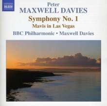 Peter Maxwell Davies (geb. 1934): Symphonie Nr.1, CD