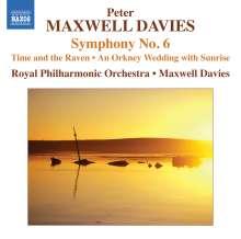Peter Maxwell Davies (geb. 1934): Symphonie Nr.6, CD