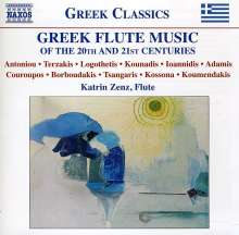 Greek Flut Music of the 20th & 21th Centuries, CD