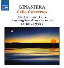 Alberto Ginastera (1916-1983): Cellokonzerte Nr.1 & 2, CD