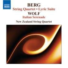Alban Berg (1885-1935): Streichquartett op.3, CD