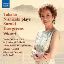Takako Nishizaki - Suzuki Evergreens Vol.6, CD