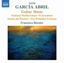 Anton Garcia Abril (geb. 1933): Gitarrenwerke, CD