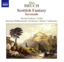 Max Bruch (1838-1920): Schottische Fantasie op.46 für Violine & Orchester, CD