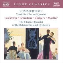 Musik für Klarinettenquartett, CD