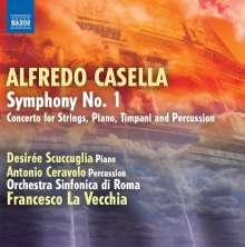Alfredo Casella (1883-1947): Symphonie Nr.1 op.5, CD