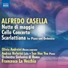 Alfredo Casella (1883-1947): Cellokonzert op.58, CD