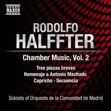 Rodolfo Halffter (1900-1987): Kammmusik Vol.2, CD