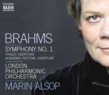 Johannes Brahms (1833-1897): Symphonie Nr.1, CD