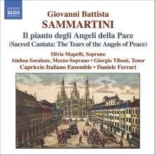"""Giovanni Battista Sammartini (1701-1775): Kantate """"Il pianto degli Angeli della Pace"""", CD"""