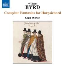William Byrd (1543-1623): Complete Fantasias für Cembalo, CD