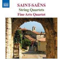 Camille Saint-Saens (1835-1921): Streichquartette Nr.1 & 2 (opp.112 & 153), CD