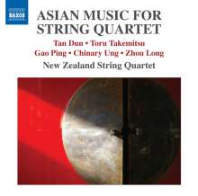 New Zealand String Quartet - Asian Music For String Quartet, CD