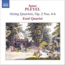 Ignaz Pleyel (1757-1831): Streichquartette op.2 Nr.4-6, CD