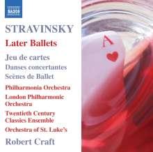 Igor Strawinsky (1882-1971): Ballette, CD