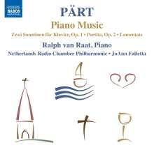 Arvo Pärt (geb. 1935): Klavierwerke, CD