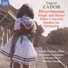 Eugene Zador (1894-1977): Studies for Orchestra, CD